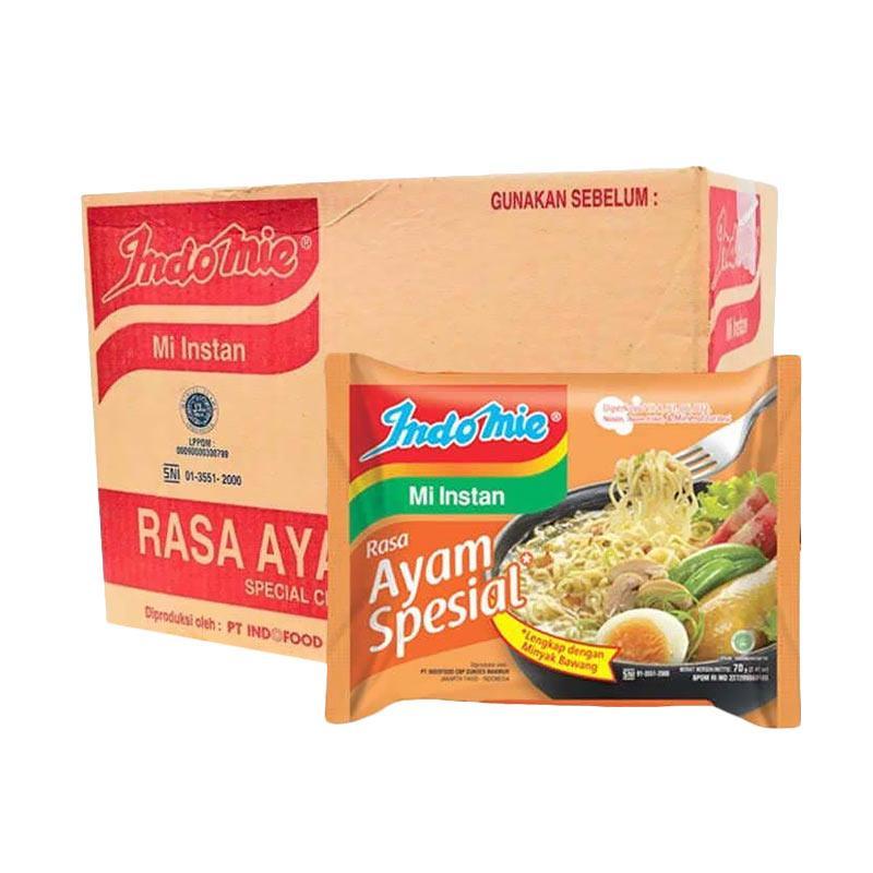 Indomie Rasa Ayam Special Mie Instan [68 g/40 pcs]