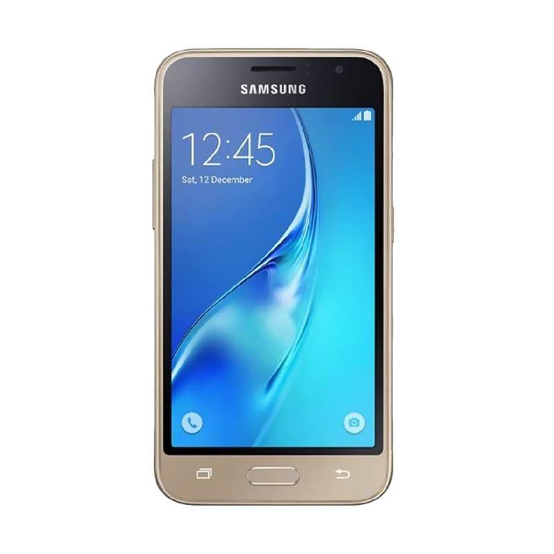 Samsung Galaxy J1 2016 Smartphone - Gold [8 GB/ 1 GB]