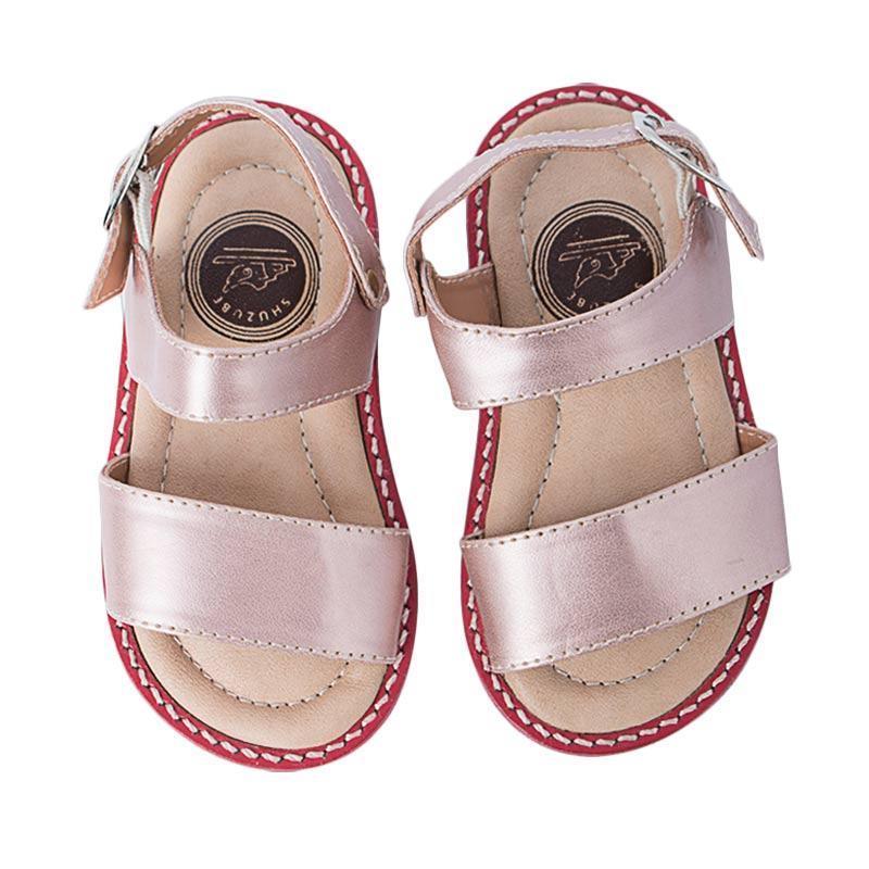 Shuzube BS-10 Single Strap Sandals - Pink