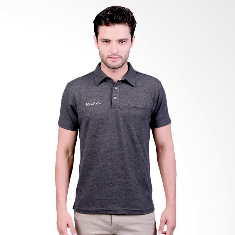 Torch Seri Gidea Polo Shirt Pria - Dark Grey Extra diskon 7% setiap hari Extra diskon 5% setiap hari Citibank – lebih hemat 10%