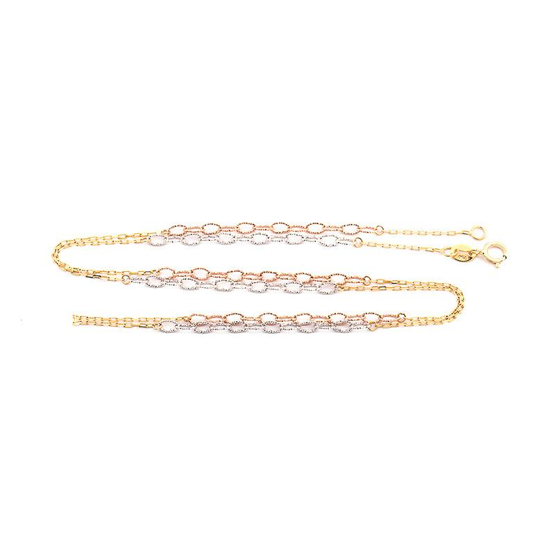 Loop Gold Necklace - Kalung Emas Kadar 75