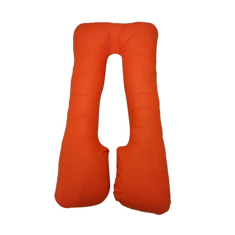 OEM Bantal Ibu Hamil Maternity Pillow - Orange