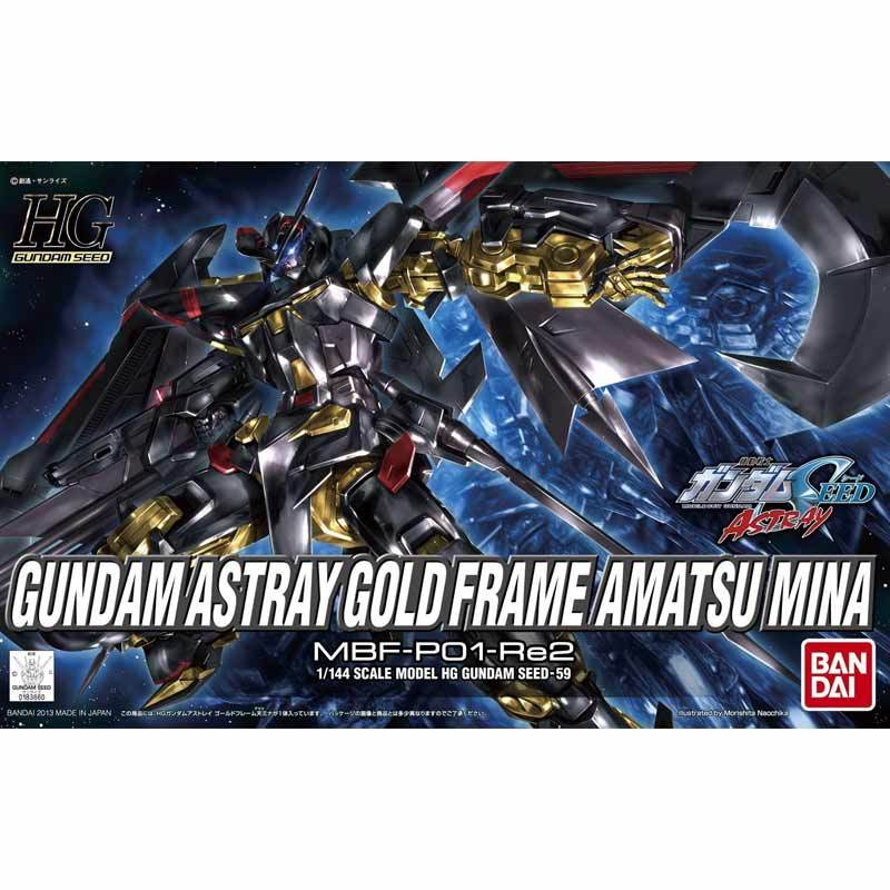 Bandai HG Gundam Astray Gold Frame Amatsu Mina Model Kit [1:144]