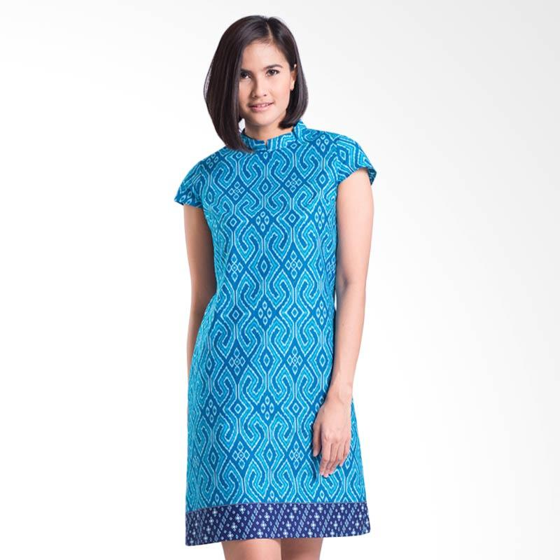 Bateeq CL15-010A Short Sleeve Cotton Dress - Blue