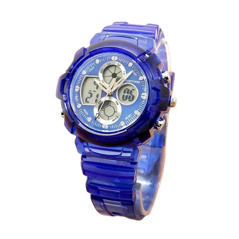 Fortuner FR J-540AD Jam Tangan Wanita - Blue