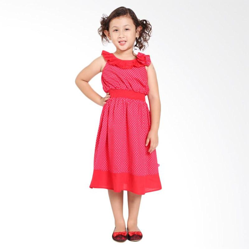 Pretty Girl 2CHITATA Dress Anak - Red