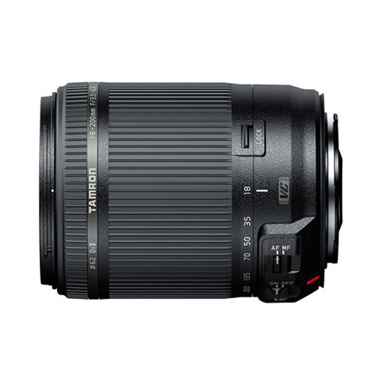 Tamron 18-200mm F/3.5-6.3 DI-II VC Lensa Kamera for Canon