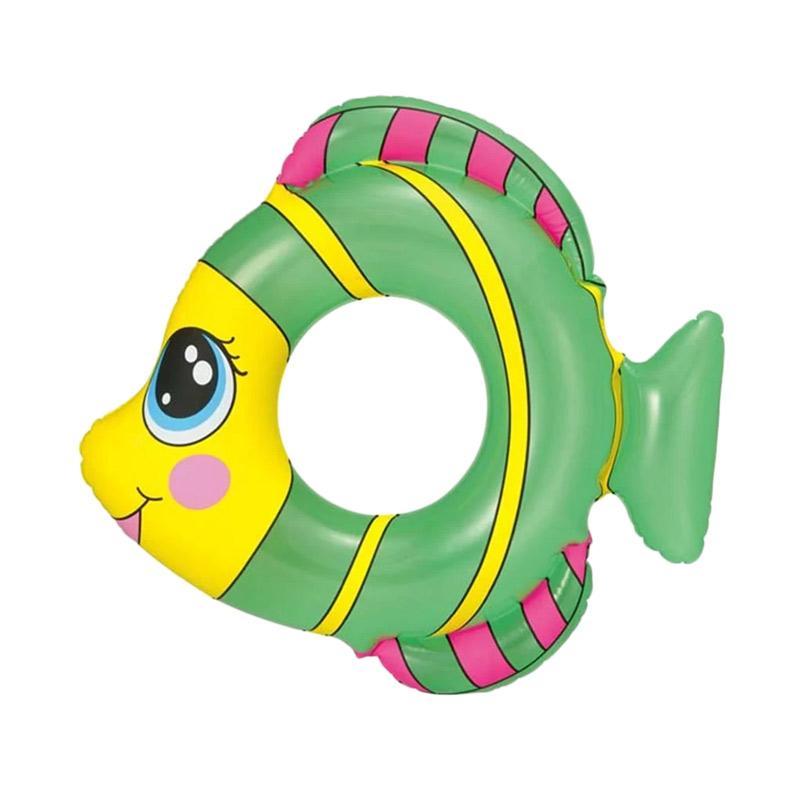 Bestway Friendly Fish Swim Ring - Hijau