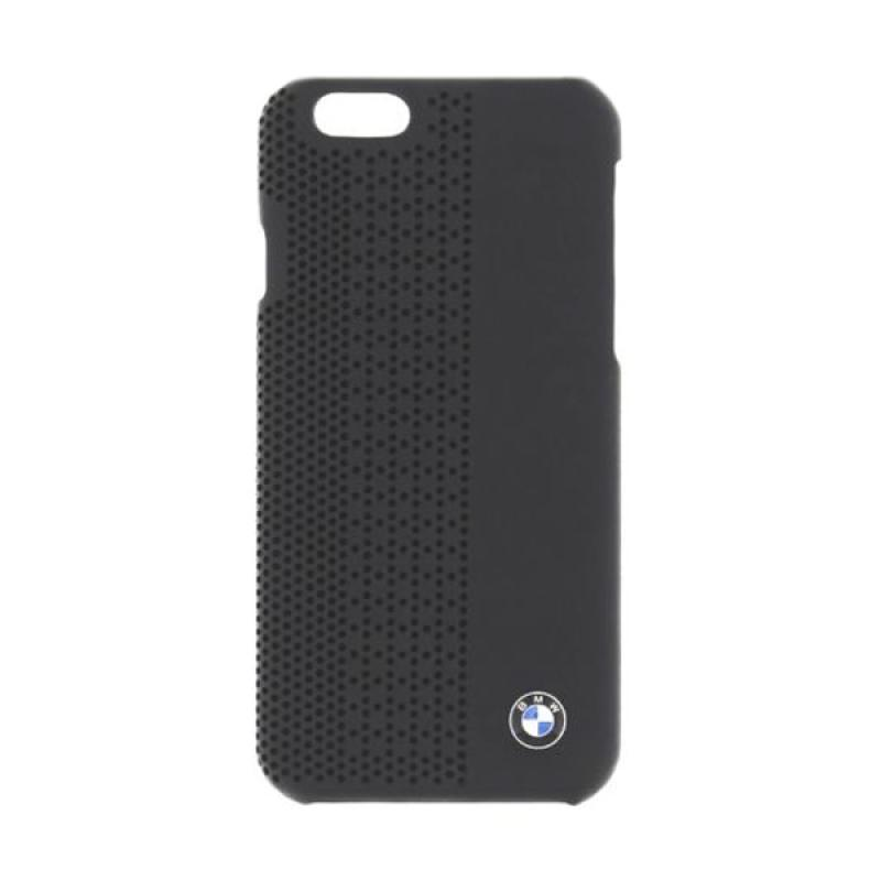 BMW Perforated Hardcase Casing for iPhone 6 - Black