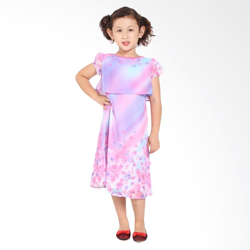 Pretty Girl WINDA Dress Anak - Pink