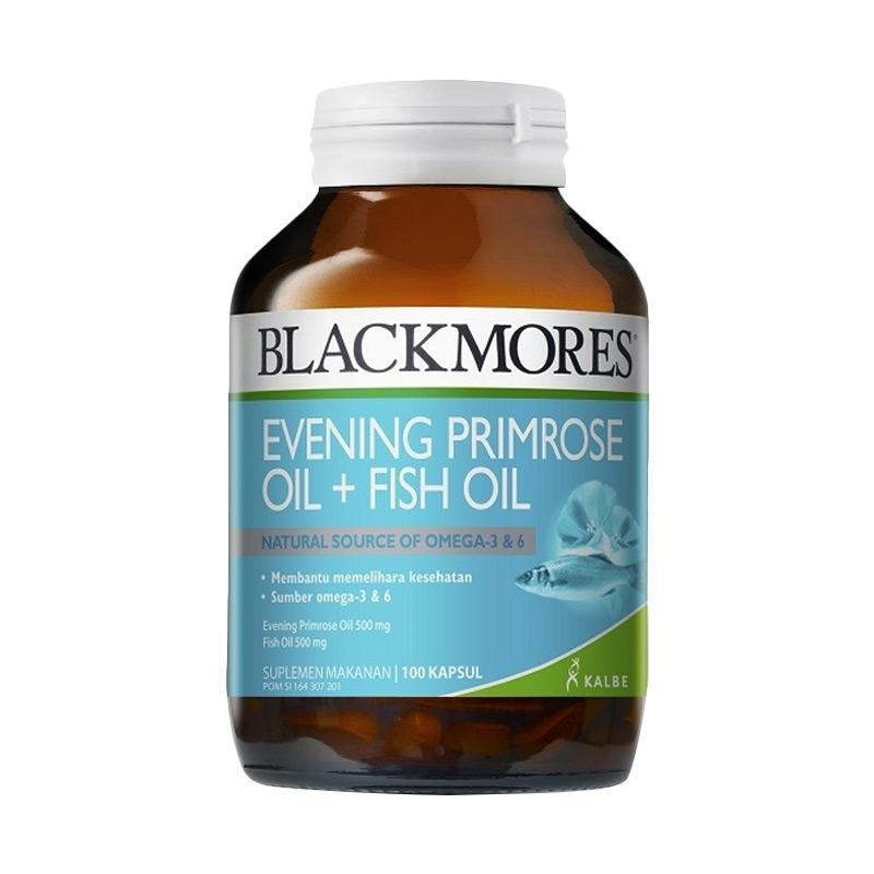 Blackmores Evening Primrose [100 Kapsul] exp 2019/03