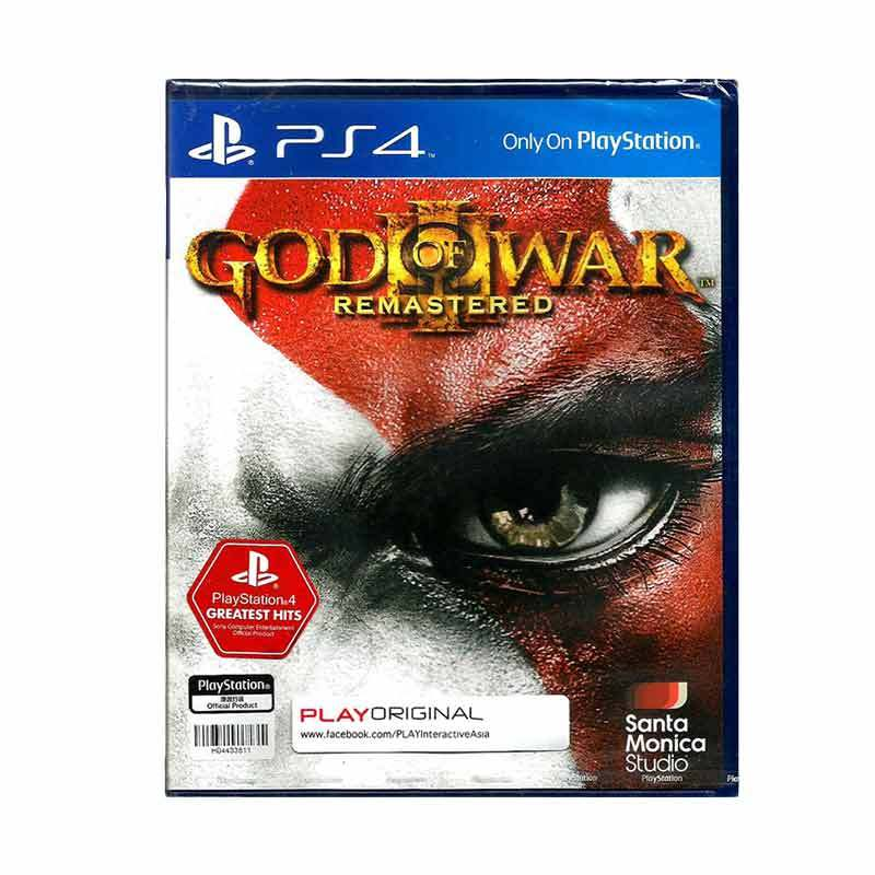 Sony PS4 God Of War III Remastered DVD Games