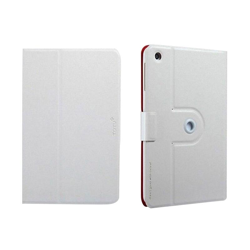 TOTU 360 Leathercase Casing for iPad Air - White
