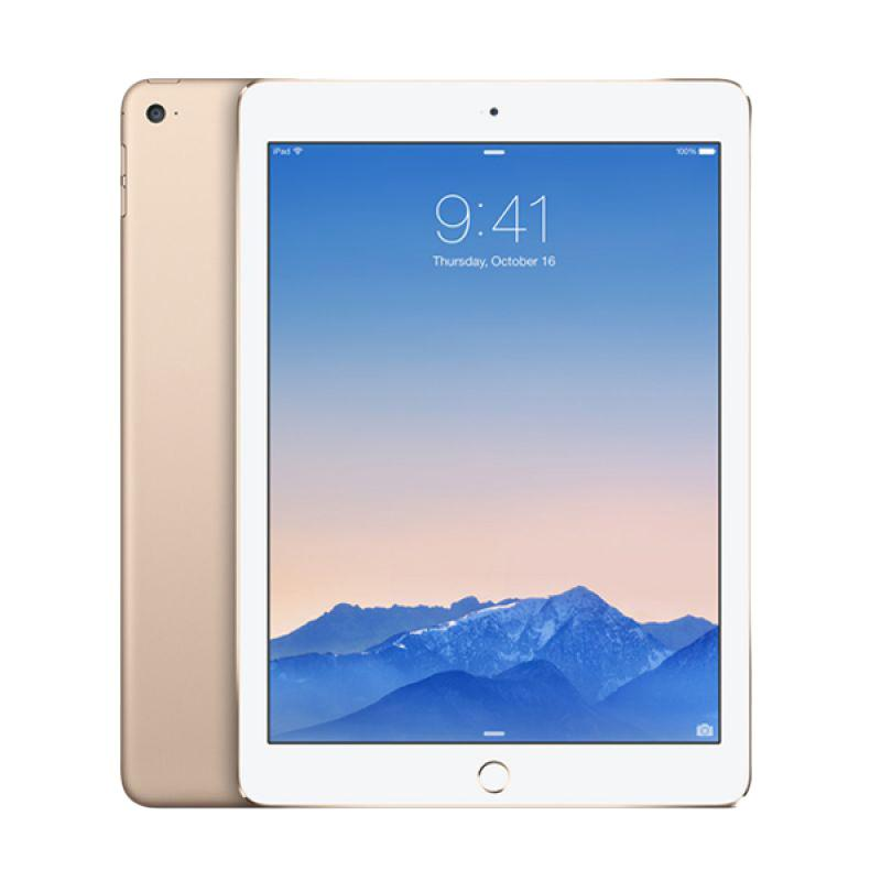Apple New iPad 32GB 2017 Tablet - Gold [9.7 inch/ Wifi Only] - 9305387 , 15663773 , 337_15663773 , 6000000 , Apple-New-iPad-32GB-2017-Tablet-Gold-9.7-inch-Wifi-Only-337_15663773 , blibli.com , Apple New iPad 32GB 2017 Tablet - Gold [9.7 inch/ Wifi Only]