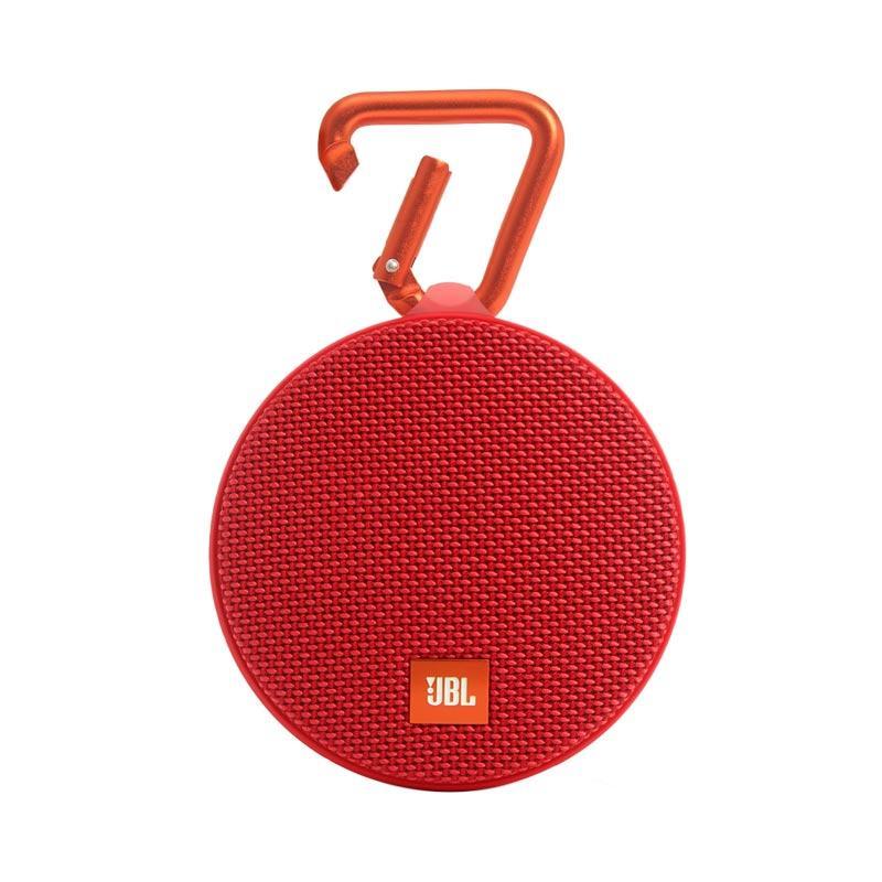 JBL Clip 2 Waterproof Bluetooth Speaker - Merah
