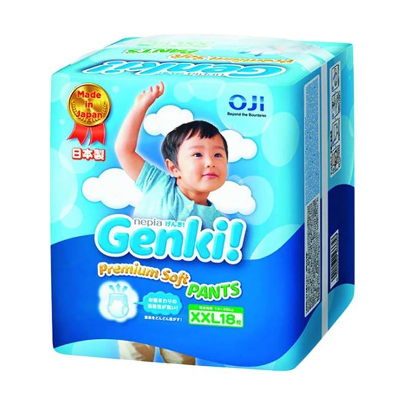 Nepia Genki Pants Popok Bayi [Size XXL/ 18 pcs]