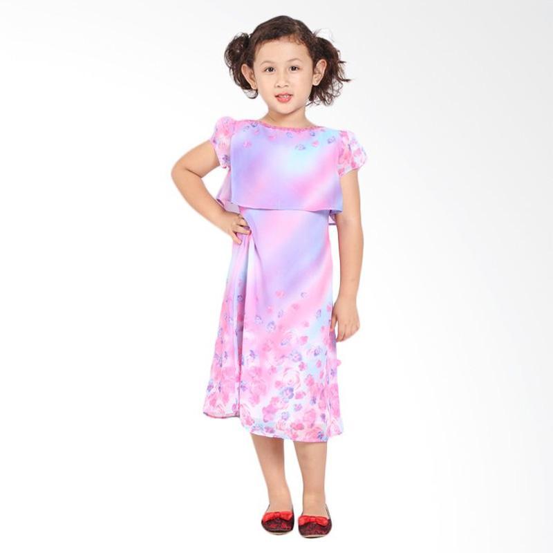 Pretty Girl 2WINDA Dress Anak - Pink