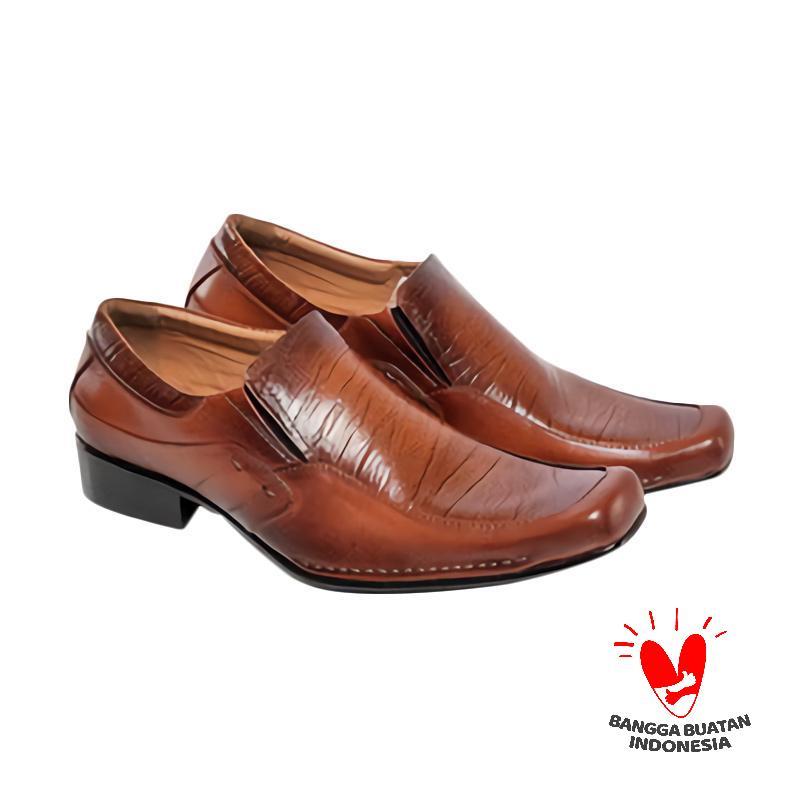 Spiccato SP 506.02 Sepatu Formal Pria - Coklat