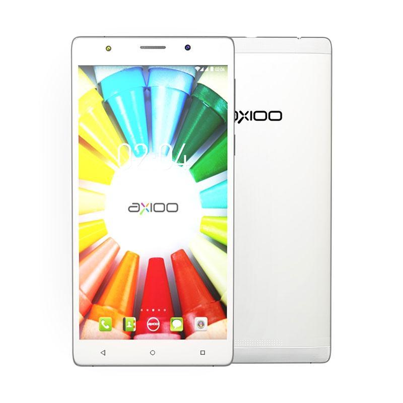 Axioo Picophone M5C Smartphone - White [8 GB/1 GB]