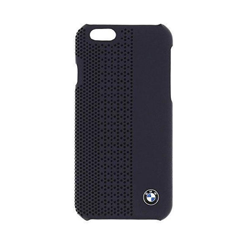 BMW Perforated Hardcase Casing for iPhone 6 - Blue