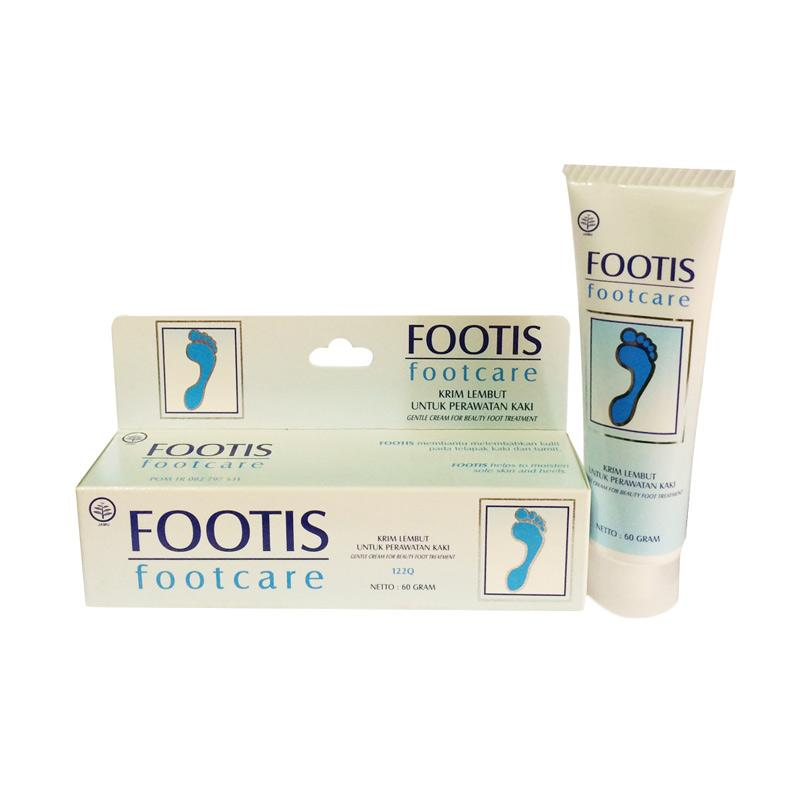 Borobudur Herbal Footis Footcare Cream [2 Box / @60 g]