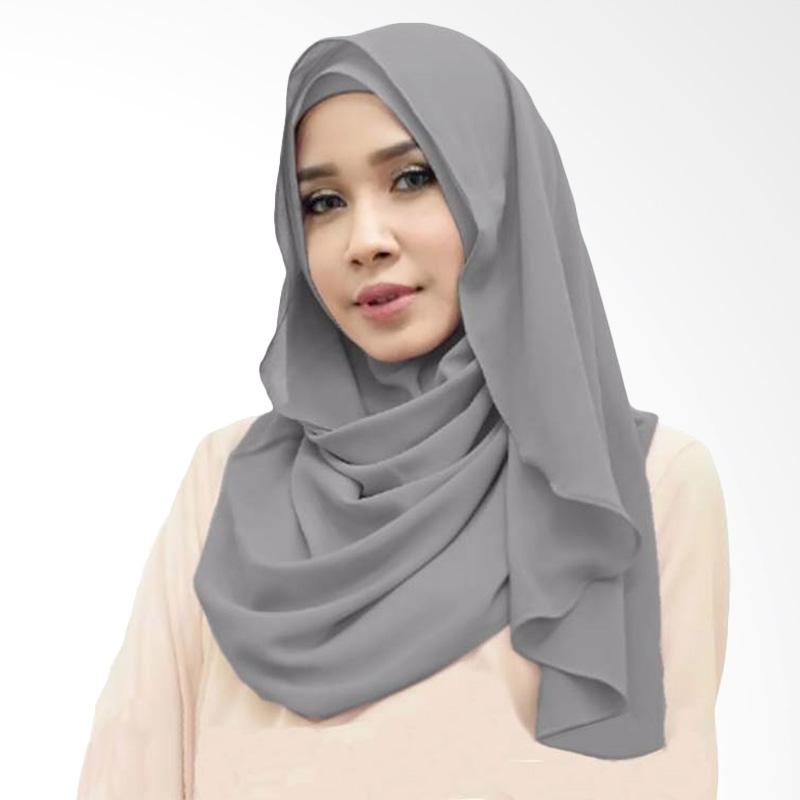 Kus group Orchid Hijab Instant - Grey