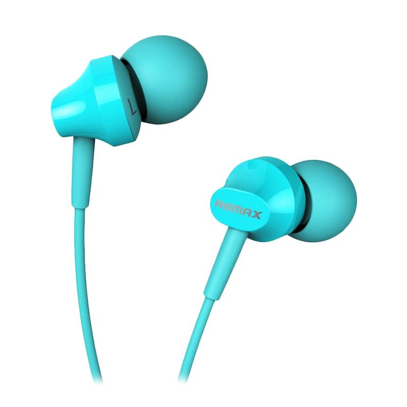 Remax RM 501 Earphone - Biru