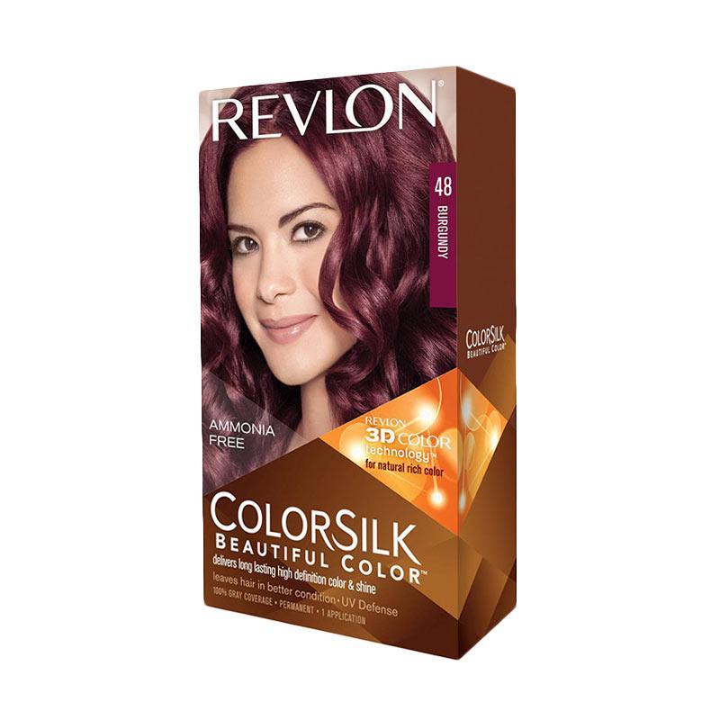 Revlon ColorSilk Hair Color - Burgundy