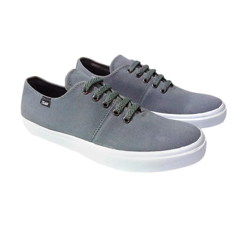 Zaeda Shoes Classio Sepatu Pria - Grey