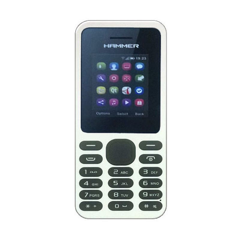 Advan Hammer R1E Putih Handphone [Dual SIM]