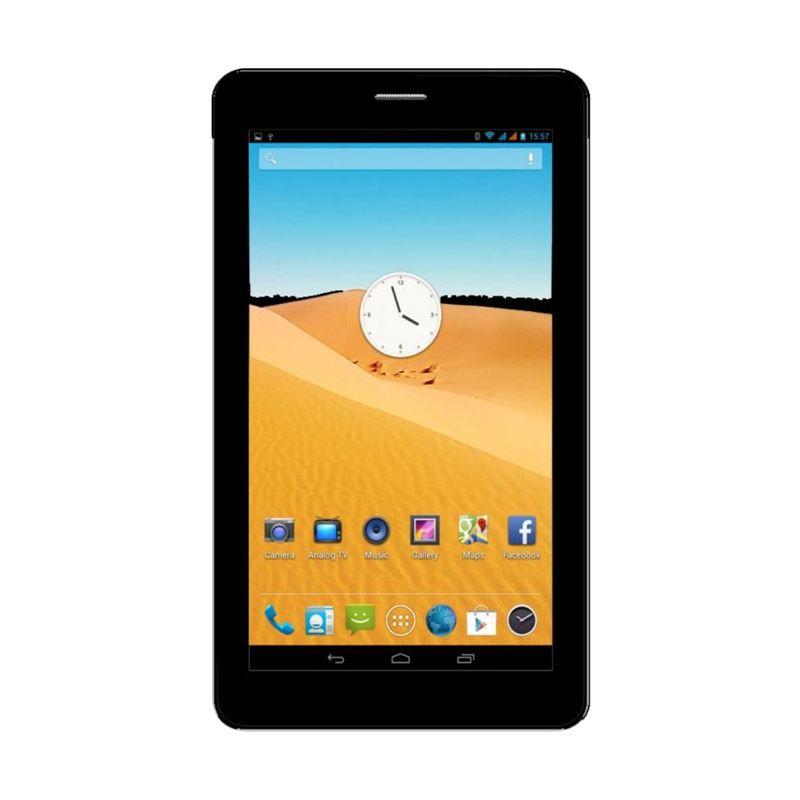 Evercoss AT1D Jump S Smartphone - Hitam [4GB/ Garansi Resmi]