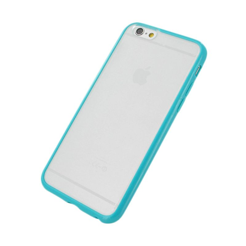 The King Tech Bumper List Blue Casing for iPhone 6 Plus