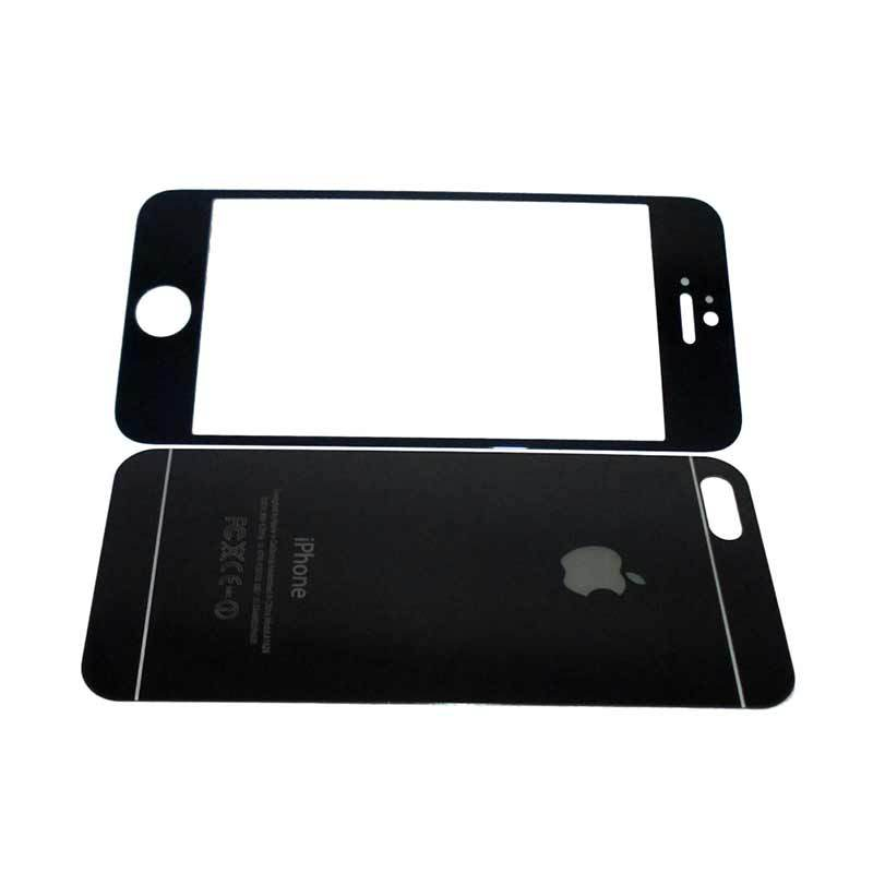 The Kingtech Mirror 2 in 1 Silver Tempered Glass for iPhone 4