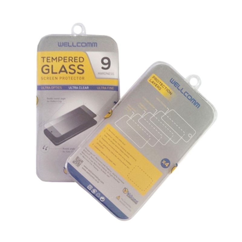 Wellcomm Tempered Glass Screen Protector for Samsung Galaxy Note 2