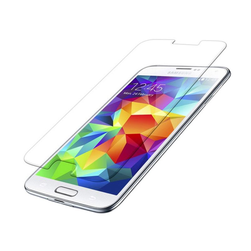 Wellcomm Tempered Glass Screen Protector for Samsung Galaxy S5