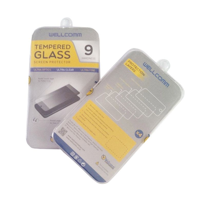 Wellcomm Tempered Glass Screen Protector for Samsung Galaxy S4