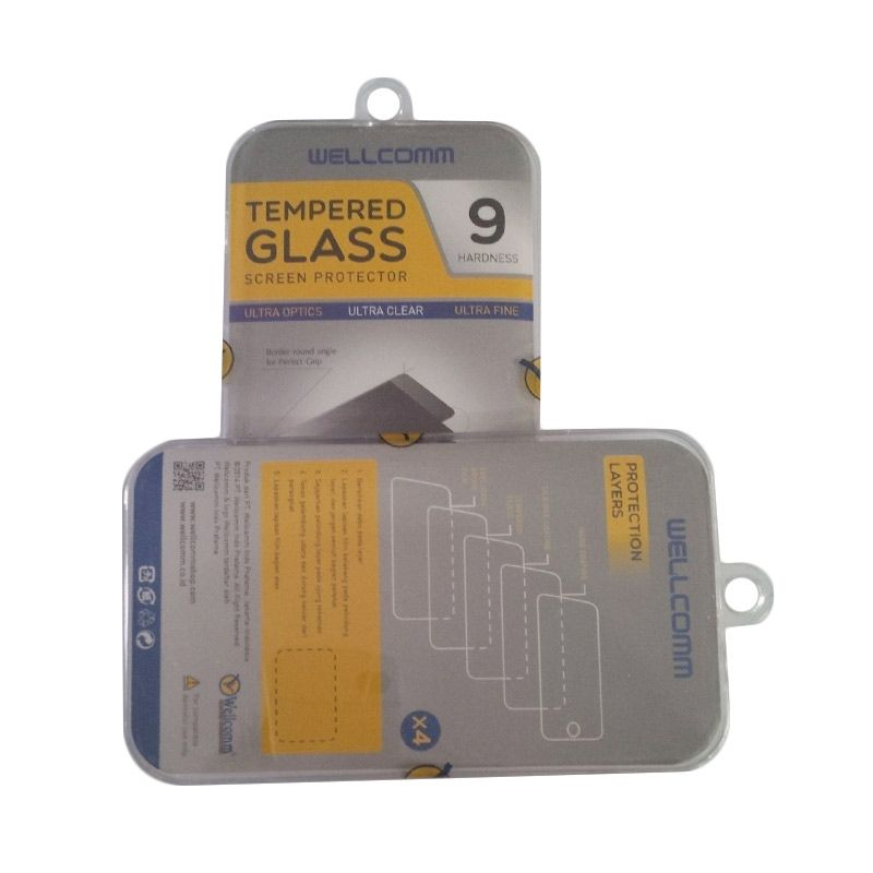 Wellcomm tempered Glass Screen Protector for Samsung Galaxy Core Prime