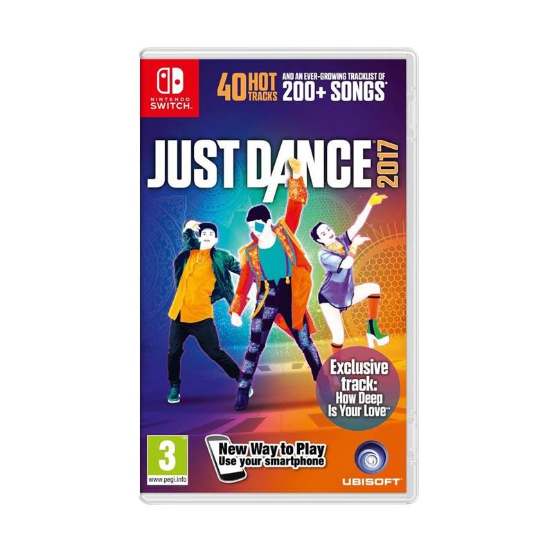 jual nintendo switch game just dance 2017 dvd game online
