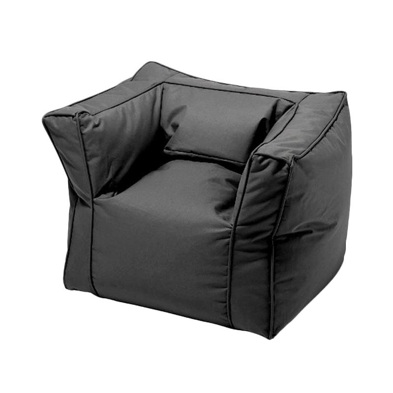 Jual Prissilia Bantal Duduk Bean Bag Sofa - Black Online - Harga & Kualitas Terjamin | Blibli.com