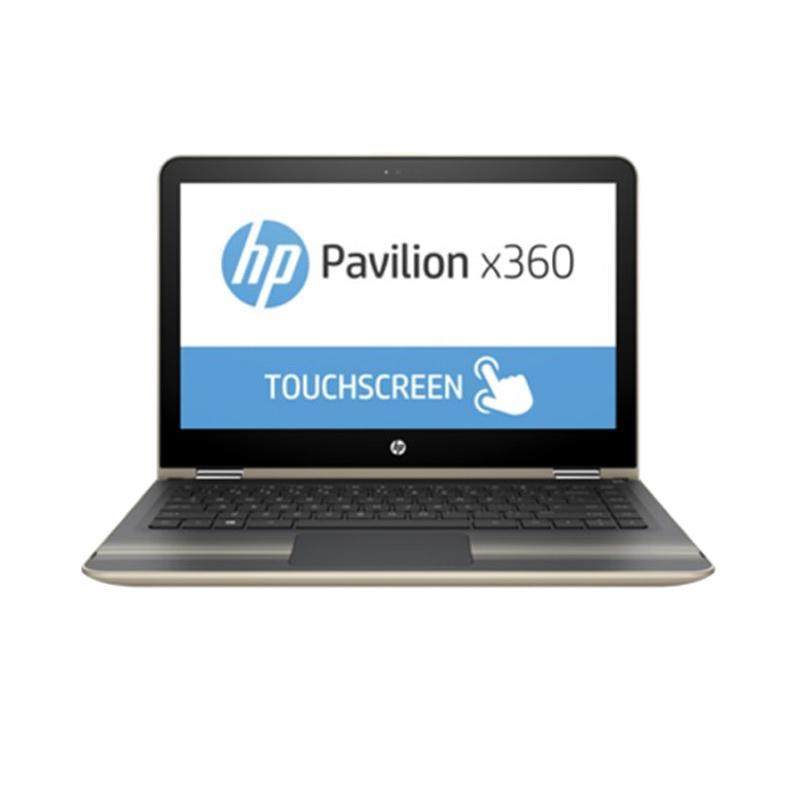 Jual HP Pav X360 13-U031TU Notebook - Gold [Ci3-6100U/4 GB