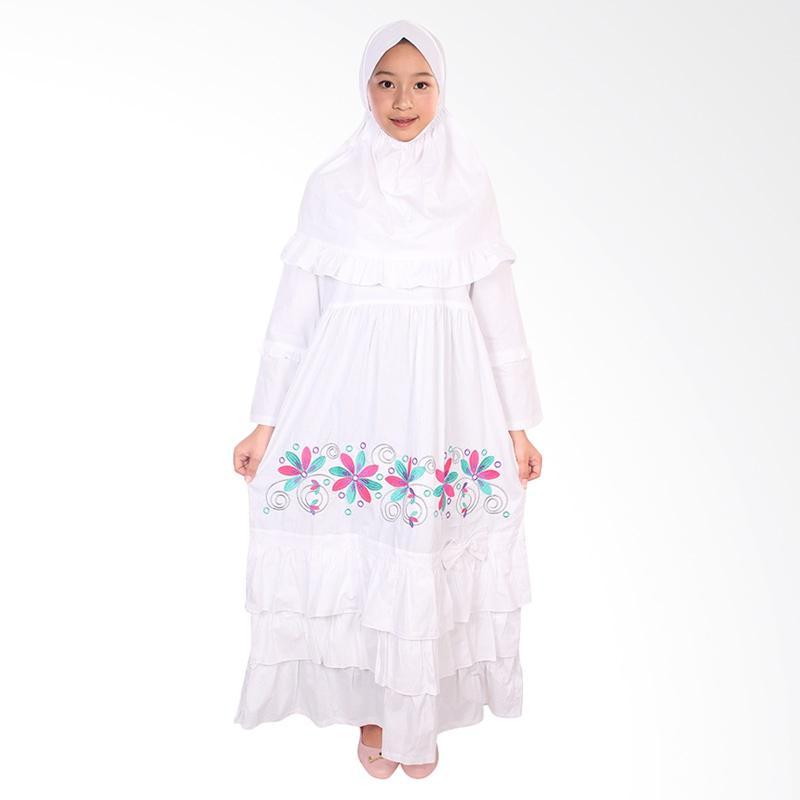 Jual Fayrany Fgp 008b Busana Muslim Gamis Anak Putih