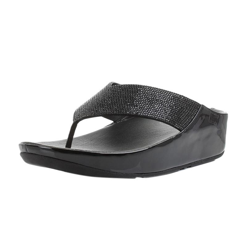 Harga FitFlop Womens Crystall Sandals - Hitam - PriceNia.com