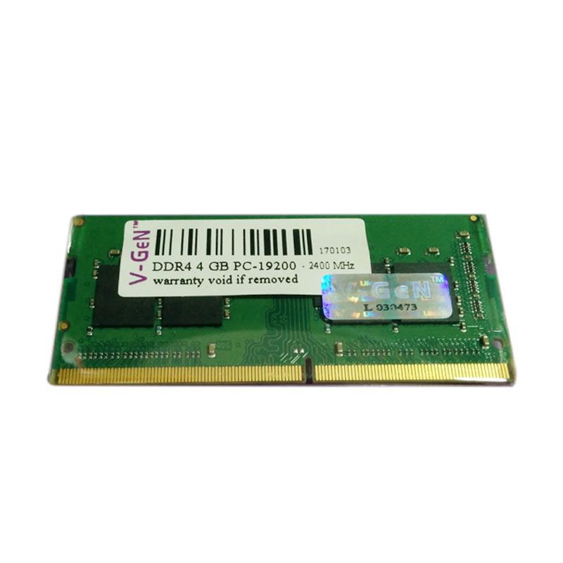 Jual V GEN SODimm DDR4 Memory RAM Laptop 4GB PC19200