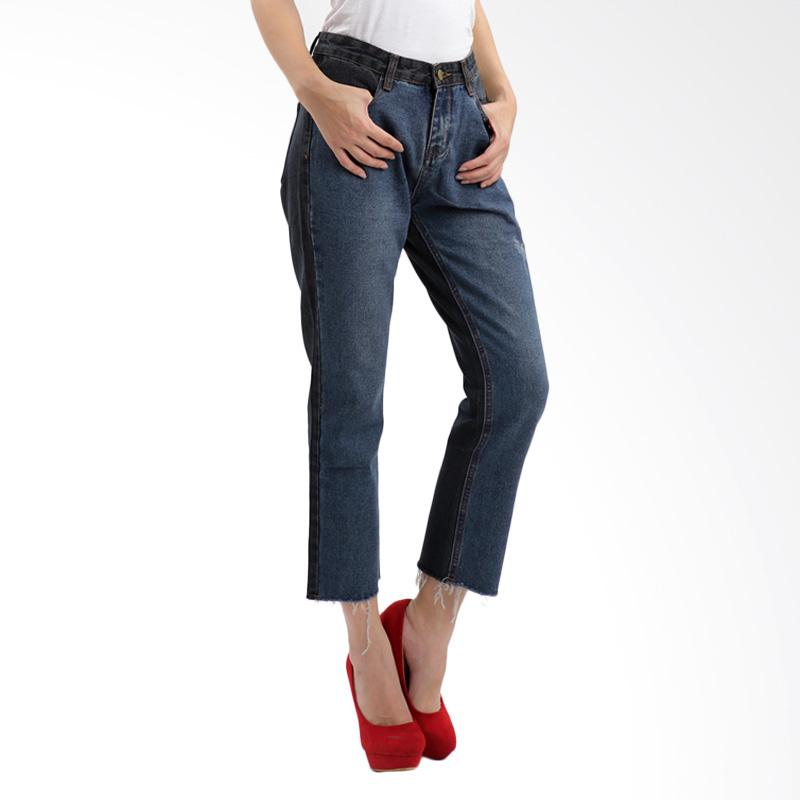 Jual MKY Clothing Weisley Washed Jeans Online