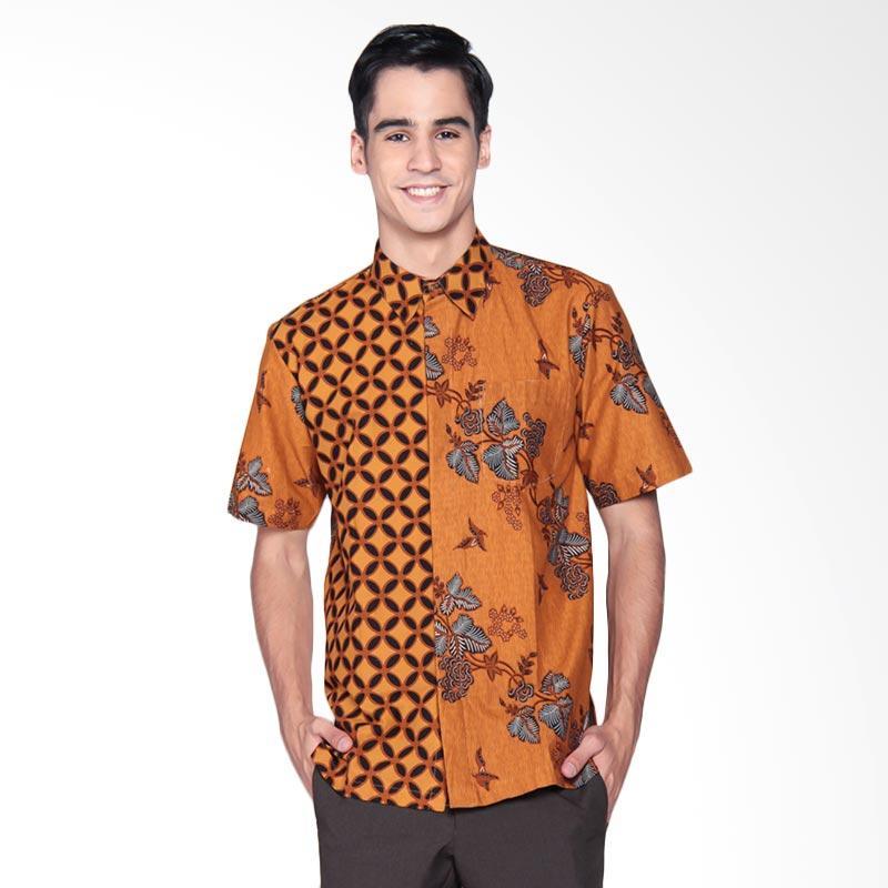Harga Baju Batik Pria Danar Hadi: Jual Danar Hadi Print Motif Lung Kukilo Gelar Mix Kawung