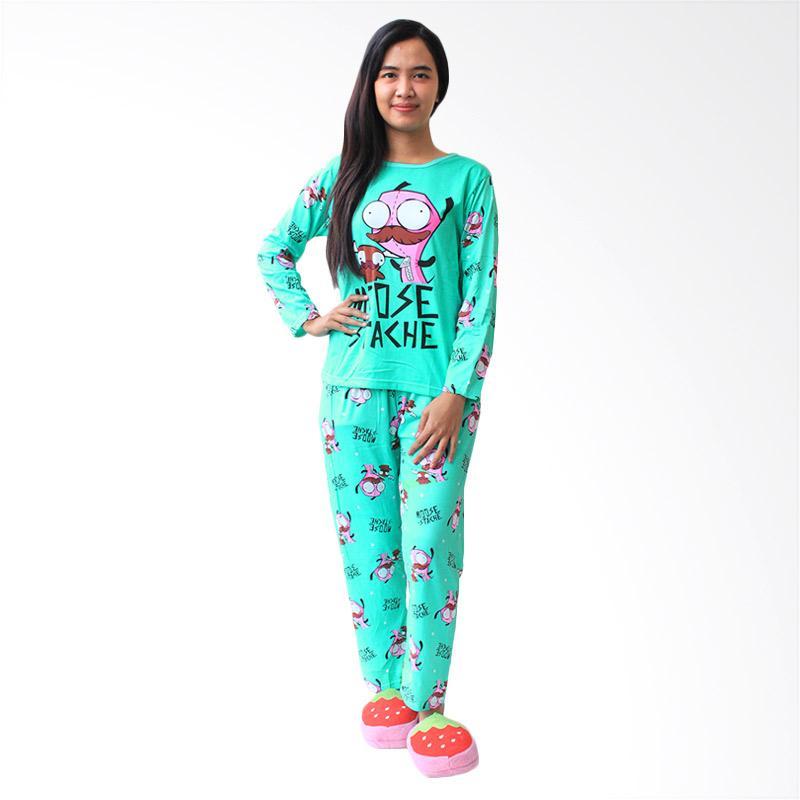 Jual Aily 8804 Setelan Baju Tidur dan Celana Panjang