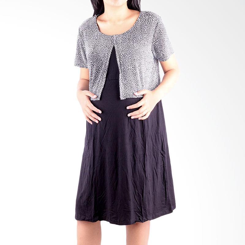 Jual HMILL 1144 Baju Hamil Dress Hamil Menyusui