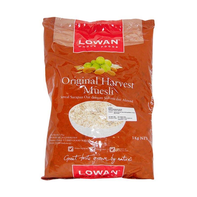 Jual Lowan Oat Original jual lowan oat original harvest muesli cereal 1 kg