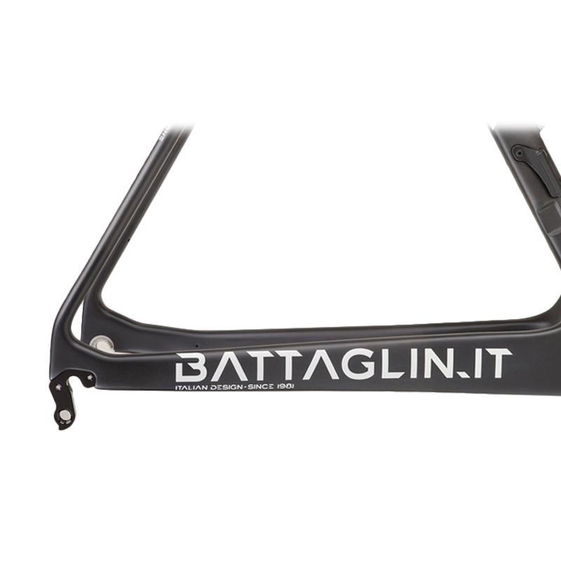 Jual BATTAGLIN Faster Carbon Road Frame Set Sepeda - Matte ...