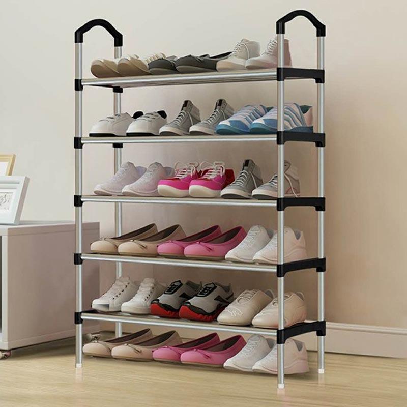 Jual Rak Sepatu 5 Susun Serbaguna Minimalis Portable Murah ...